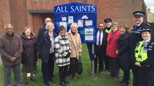 Bedfordshire Police Community Cohesion team in Bedford