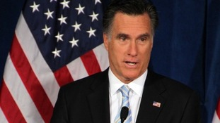 United States Republican presidential candidate Mitt Romney.