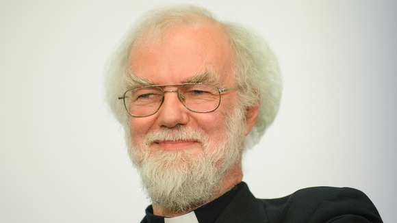 The Archbishop of Canterbury, Dr Rowan Williams.