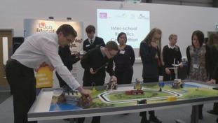 Lego robot event