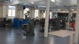 Rotherham College engineering department