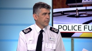 The new Chief Constable of Avon and Somerset Police Andy Marsh.