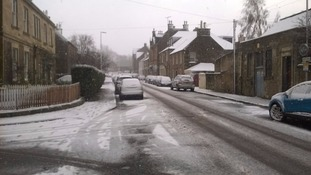Buccleugh Street, Melrose, this morning