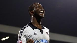 Fulham striker Moussa Dembele