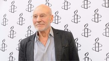 Sir Patrick Stewart backs campaign to save Hudds A & E