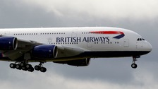 British Airways plane (stock)