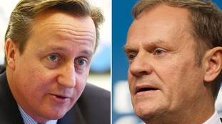 David Cameron set for EU renegotiation talks with Donald Tusk
