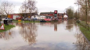 Flood alerts are in place in some parts of the West Midlands