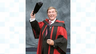 Terry Wogan was an honorary graduate of the University of Leicester.