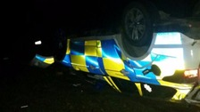 Police car involved in crash during chase in Essex