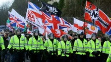 Police reject claims they should have cancelled demos