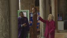 Lilian Groves has been a Durham Cathedral guide for 25 years