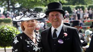 Sir Terry Wogan with Lady Wogan at Royal Ascot