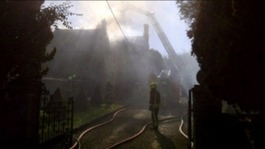 Fire destroys part of Luckington Manor in Wiltshire