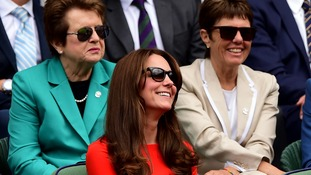 Duchess of Cambridge to take up Wimbledon role