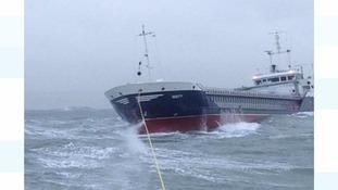 RNLI volunteers spend 24 hours at sea in 'marathon' rescue