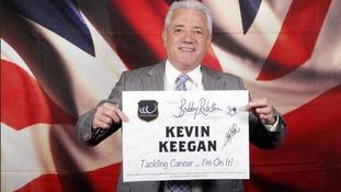 Keegan's on it! Newcastle hero backs Sir Bobby charity