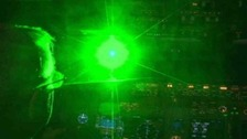 Lasers shone directly at planes flying over Heathrow