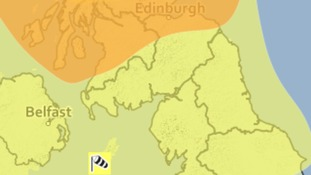 Amber and Yellow warnings are in force.