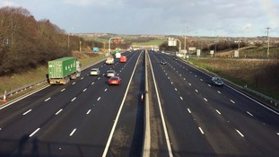 Motorists test drive final section of Smart motorway