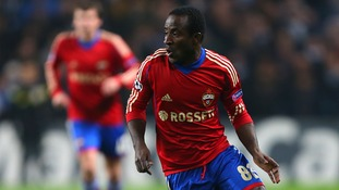 Newcastle sign striker Doumbia on loan
