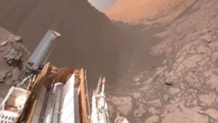 Nasa's Mars mission sends back stunning interactive 360 video from the Red Planet