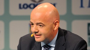FIFA candidate Infantino unveils action plan