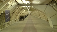 Under London: Deep bomb shelters that saved thousands