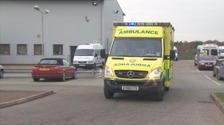 The region's ambulance workers has been praised in a new survey