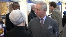 Prince Charles visits his tenants saving lives in Africa