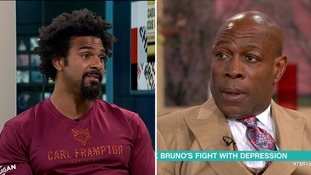 'Let Frank Bruno fight again', says former heavyweight champion David Haye