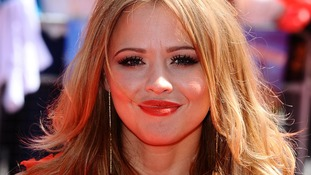 Girls Aloud singer Kimberley Walsh