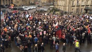 Campaigners against closure