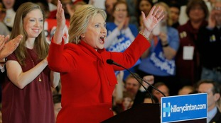 Hillary Clinton's campaign has declared victory at the Iowa Caucus