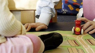 Working parents in Staffordshire will be the first to take advantage of 30 hours of free childcare from September.