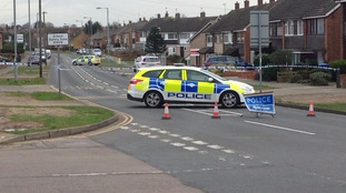 Police investigate firearms incident in Hawthorn Drive, Ipswich.