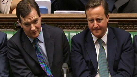 George Osborne and David Cameron