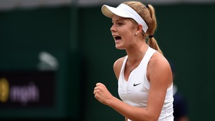 Teenage tennis star Katie Swan selected in GB Fed Cup squad performs 'Fresh Prince' style rap as an initiation