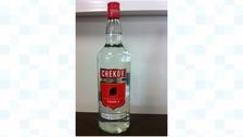 Counterfeit Chekov Vodka