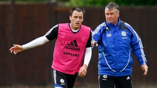Chelsea boss Guus Hiddink surprised by John Terry departure