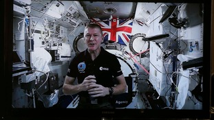 Tim Peake hosted the live Q&A
