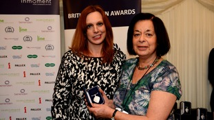 Woman honoured for her work with leukaemia patients