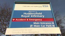 Huddersfield Royal Infirmary is threatened with closure