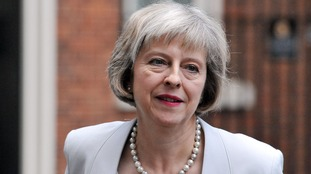 "Theresa May had been tipped as a possible leader of the ""out"" campaign."
