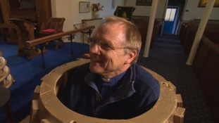 Vicar Karl Freeman has built his own fully-operational, life-size Dalek.
