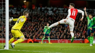 Report: Southampton's Forster denies Arsenal