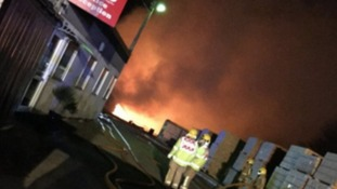 Investigation underway after major garden centre fire