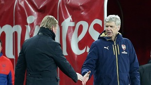 Arsenal and Southampton managers in tunnel spat