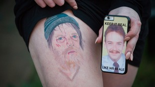 EastEnders fan gets homeless Ian Beale tattooed on her thigh - but says 'I'm not a weirdo'