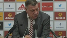 "Allardyce: ""Most disappointed I've been"""
